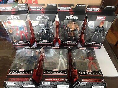 Marvel Legends SUPERIOR VENOM KRAVEN GHOST RIDER Rhino BAF Complete Set 7 NIB