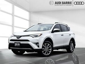 2016 Toyota RAV4 AWD Limited Nav/Leather/Roof