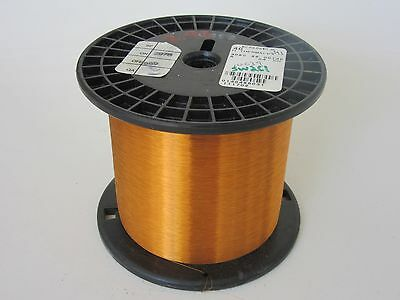 40 Awg  2.95 Lbs. Essex Thermalex Heavy Enamel Coated Copper Magnet Wire