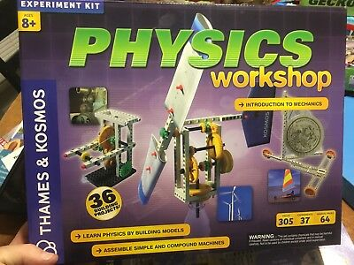Physics Workshop Build Kit For Car Machine Models Kids Toy Science Game Thames K