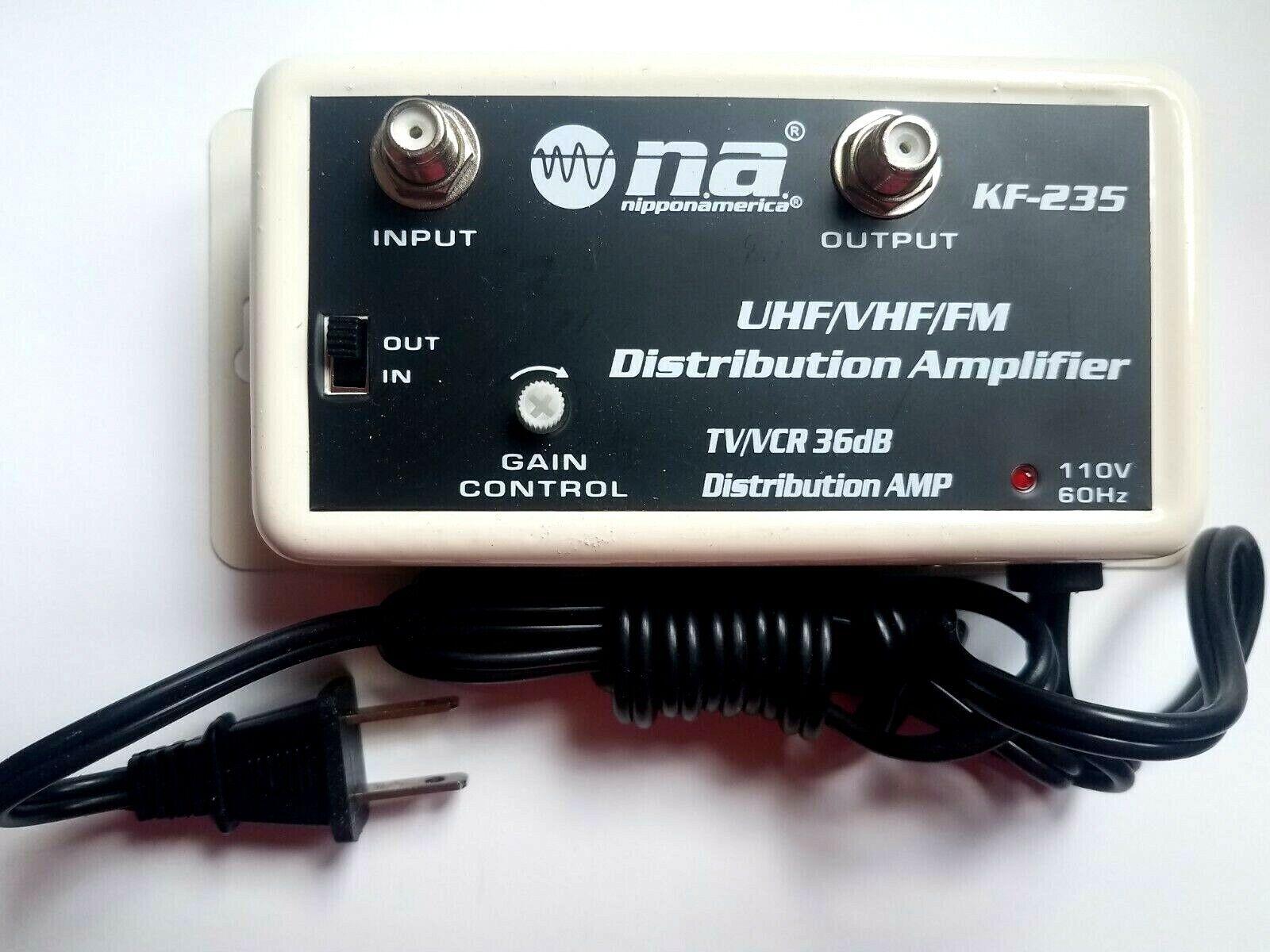 как выглядит Усилитель ТВ сигнала или фильтр NEW PRO 36 DB CABLE TV ANTENNA BOOSTER  SIGNAL AMPLIFIER 36DB HDTV AMP SHIPS USA фото