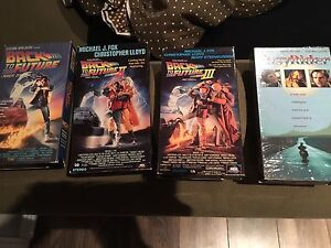 VHS cassette tapes movies