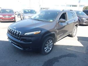2016 Jeep Cherokee LIMITED AWD CUIR MAGS NAVI