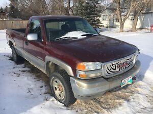 1999 GMC  2500