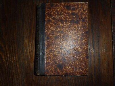 altes Buch Haus Tierarzneibuch Tierzucht Haustiere von 1885 22x16cm