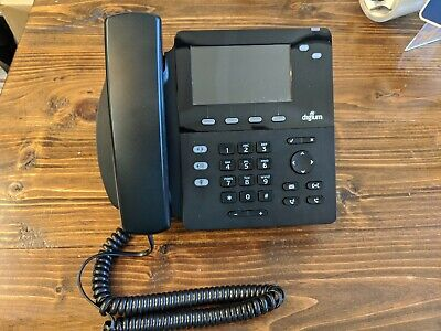 Sangoma Digium D60 Voip Poe Desk Phone - Used - Cleaned And Tested - Free Ship