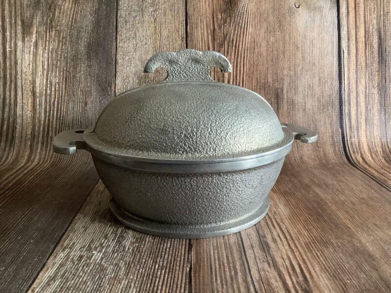 Vintage Guardian Service Aluminum Cookware Dutch Oven Pot, Round, 1 Quart
