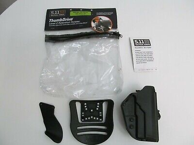 5.11 Tactical Series Thumb Drive Level 2 Retention Holster 50101 for SIG 228/229 5.11 Tactical Thumb Drive