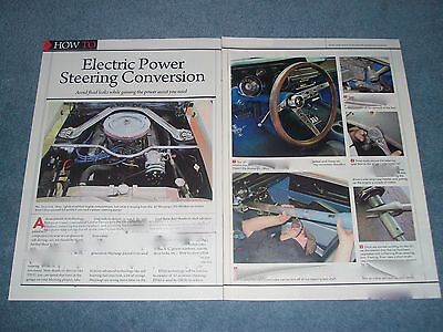 1967 Mustang Electric Power Steering Conversion Tech Info Article EPAS