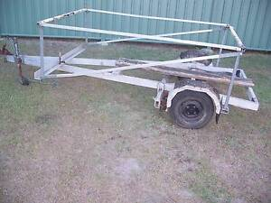aluminium boat trailer for kayak and surf skis Capalaba Brisbane South East Preview