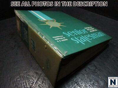 "NobleSpirit No Reserve (TL) Excellent WW ""A-I"" Senior Statesman Stamp Album"
