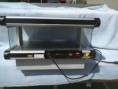 Hatco Gr2sds-24 Glo-ray 24 Inch Slanted Single Shelf Merchandiser