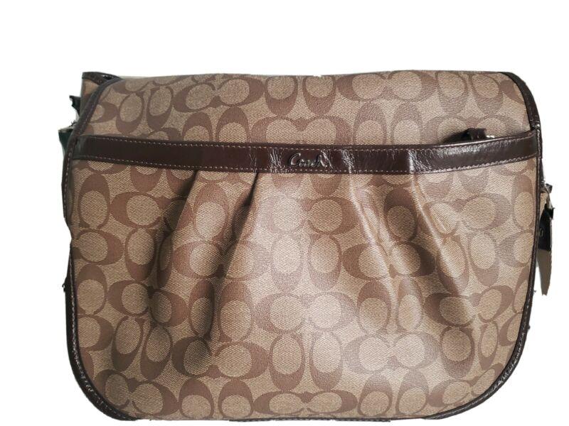 Coach diapers bag