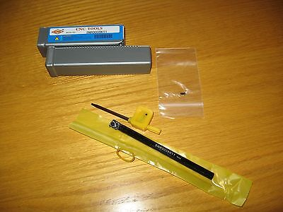 Small Internal Threading Tool, Boring Tool, with Carbide 11 IR A 60 insert