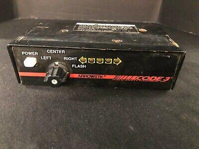 New Code 3 Arrowstikmx Light Bar Led Controller Traffic Advisor Arrow Stick