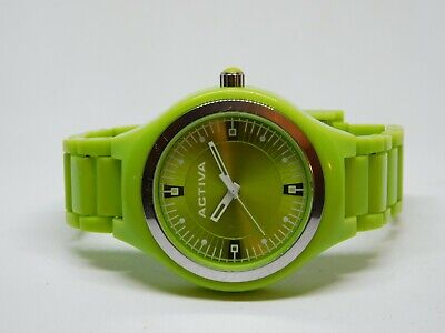 Activa Green Tone Quartz Analog Ladies Watch