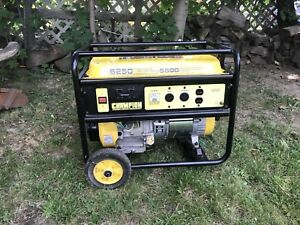 ***New pricec***  generator 6250. All tuned up and ready to go.