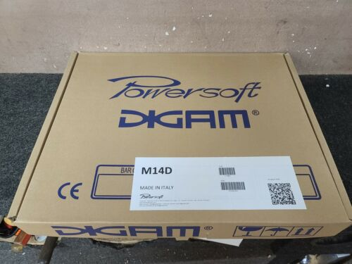 Powersoft M14D 2-Channel M Series Power Amplifier, 360W @ 8 Ohms
