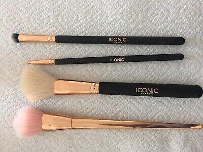 Iconic London 4x Make Up Brushes