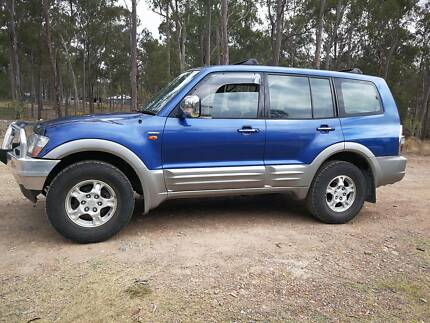 Pajero Exceed Turbo diesel Loganlea Logan Area Preview