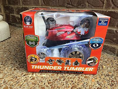 New Thunder Tumbler Radio Control 360  Degree Rally Car Red Rc Remote Control