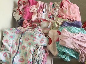 Baby Girls 00 Summer clothes bundle 80+ items Seaford Morphett Vale Area Preview