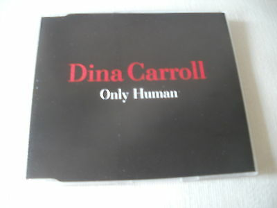 Dina Carroll   Only Human   Run To You  Remixes    Uk Cd Single