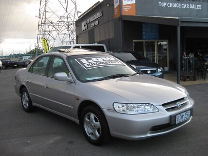 1997 Honda Accord Sedan Auto Sunroof Low ks 12 month warranty Fawkner Moreland Area Preview