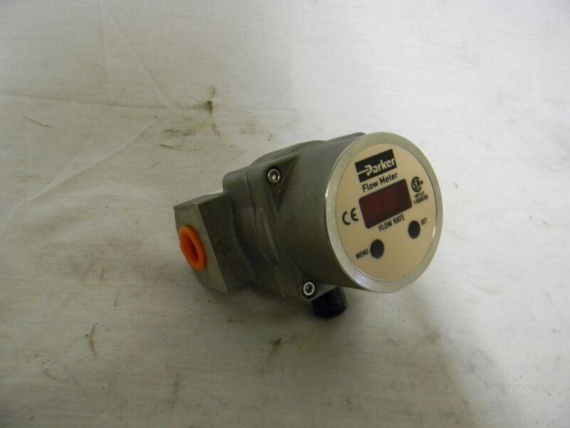 """Parker 3/8"""" FNPT Vortex Flowmeter 6 GPM PF06SNP000"""
