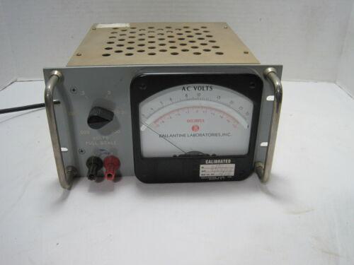 Ballantine Model 300e Vacuum Tube Voltmeter==Rack Mount!