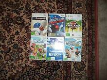 11 x Wii Games ........ Tanilba Bay Port Stephens Area Preview