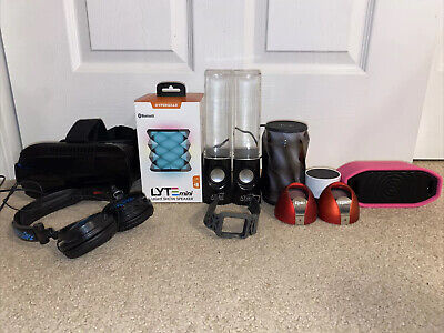 Technology Electronics Lot Bluetooth Speaker, Apple Watch Band, VR Gaming Headse