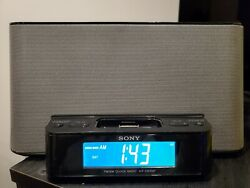 Sony Dream Machine ICF-CS10iP Alarm Clock AM/FM Stereo Radio w/ iPod iPhone Dock