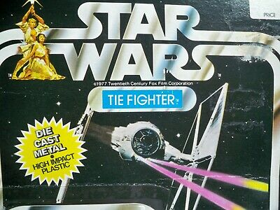 Moc Tie (K1993291 TIE FIGHTER MOC MINT ON SEALED CARD STAR WARS DIECAST 1978 VINTAGE)