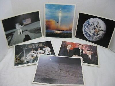 NASA Apollo Missions 8 10 14 15 10 x 8  Kennedy Space Museum Photos Lot of 6
