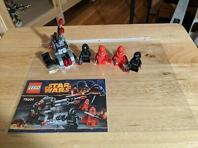 LEGO 75034 Star Wars Death Star Troopers Battle Pack COMPLETE