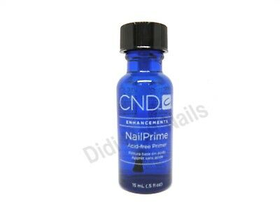 CND Creative Nail Design Nail Prime Acid-Free Primer 0.5 oz
