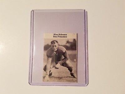 Alex Schwarz University of San Francisco 1937 Football Pictorial (Alex Schwarz)