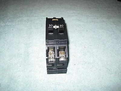 Zinsco Sylvania Gte Challenge Tb Type Q Qc Circuit Breaker 30 Amp 2 Pole Q230