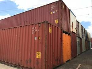 SEA (SHIPPING CONTAINER) SECONDHAND 40FT HIGH CUBE Kalgoorlie Kalgoorlie Area Preview