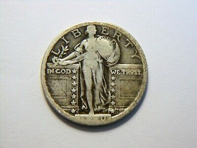 1920-S VF Silver Standing Liberty Quarter,  Nice *Better Date* Coin to (Best Coins To Collect)