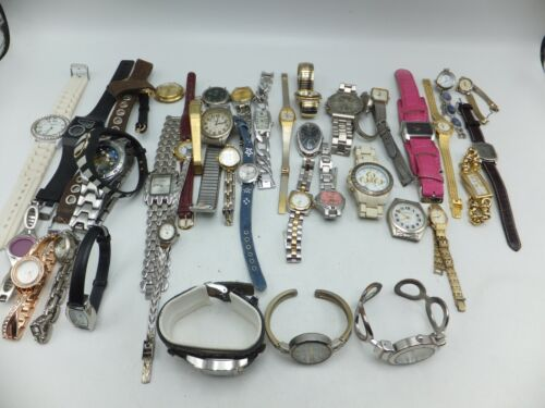 Lot Of 40+ Watch-It, Geneva, Terner Womens / Mens Fashion Watches - Sold As-Is
