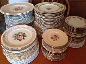 Antique Mismatched China