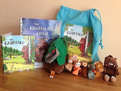The Gruffalo's Child Story Sack - With Book, Gruffalo, and Character Puppets
