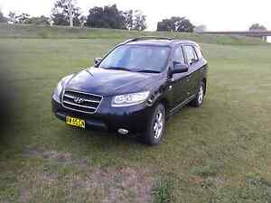 Hyundai santa fe turbo diesel 7 seater 2008 Greta Cessnock Area Preview
