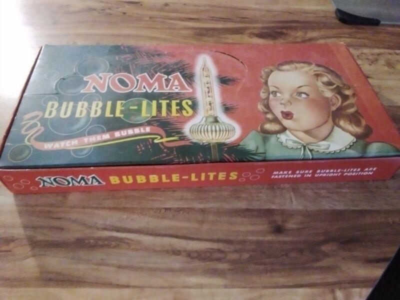 NOMA BUBBLE LIGHTSGREEN + PURPLE VERY NICE SET!
