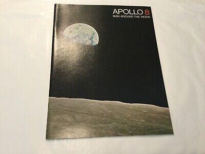 NASA booklet Apollo 8 Man Around the Moon 1968