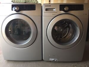 Samsung Front Load Washer and Dryer