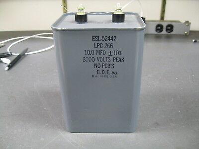 High Voltage Capacitor 10 Uf 3000 V