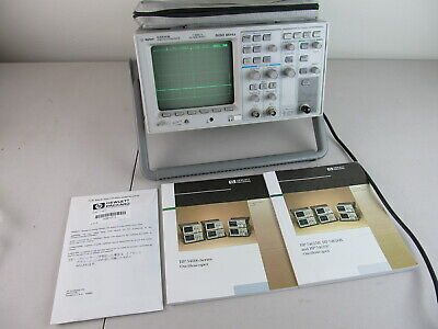 Agilent Hp 54615b - 500mhz Oscilloscope 2 Channel Tested Working